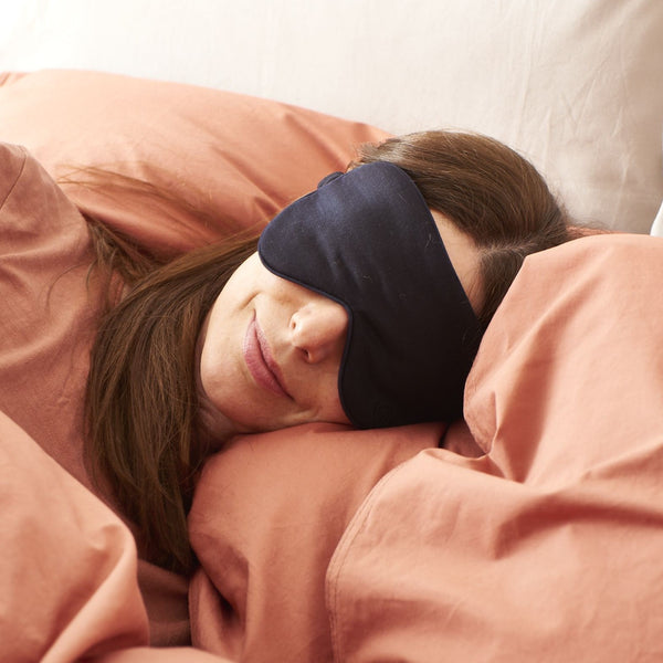 Pure Merino Sleepy Eye Mask Midnight
