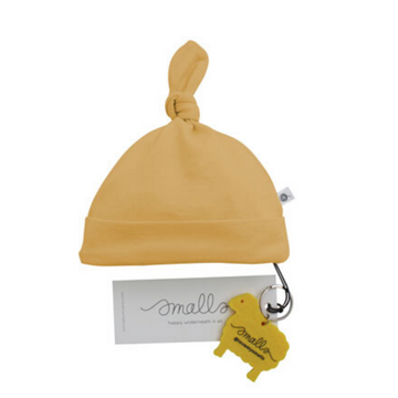 Aroha Baby Hat in Mustard