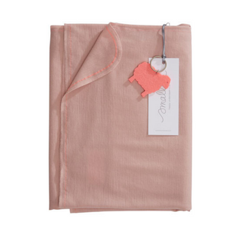 Aroha Swaddle in Misty Rose