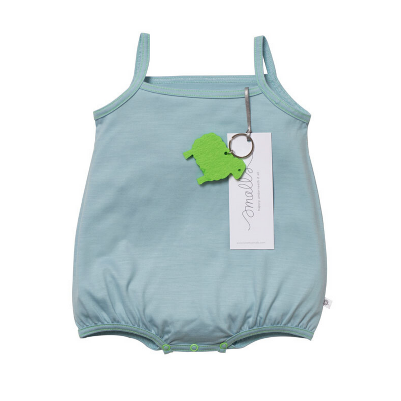 Aroha Baby Cami in Steel Blue