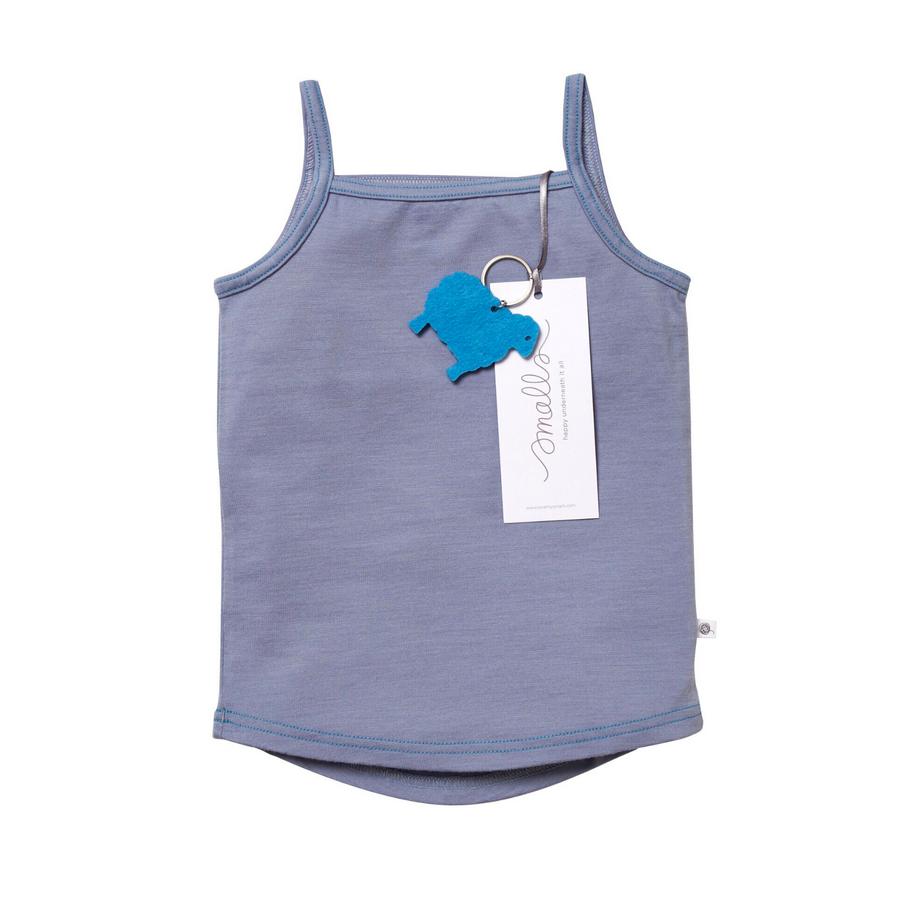 The Cami in Steel Blue