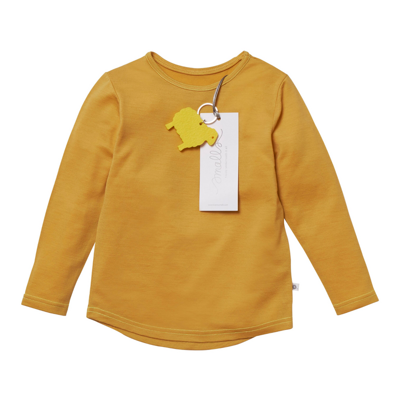 The Best Long Sleeve Tee in Natural Yellow