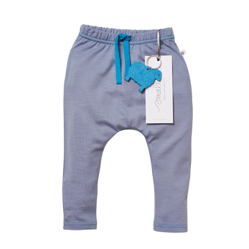 Aroha Baby 24/7 Trouser in Steel Blue