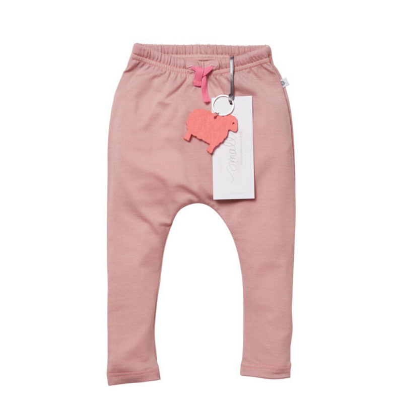 Aroha Baby 24/7 Trouser in Berry Marle