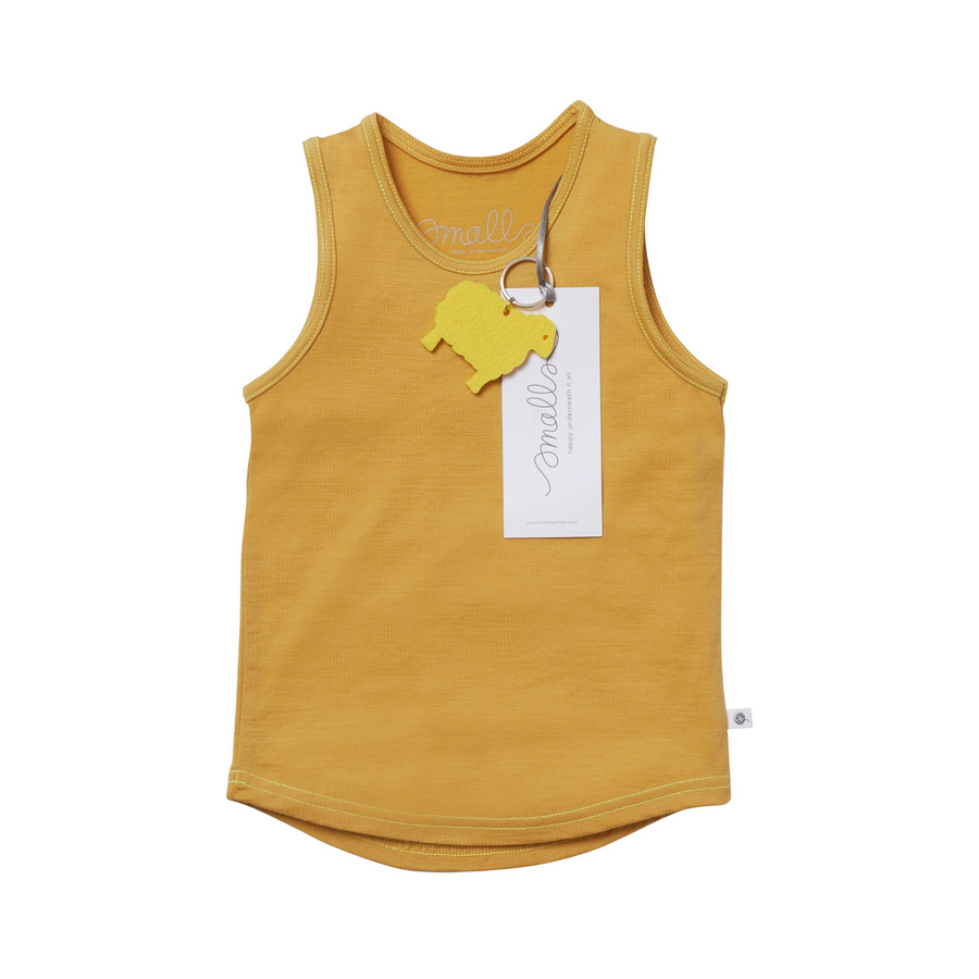 The Best Vest Top in Natural Yellow