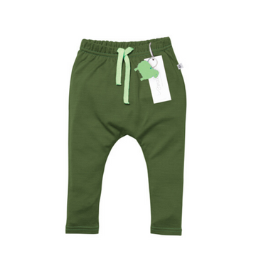Aroha Baby 24/7 Trouser in Forest Green
