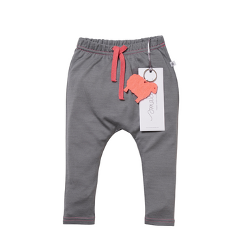 Aroha Baby 24/7 Trouser in Grey Pink