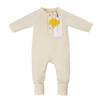 Aroha Baby Onesie in Natural