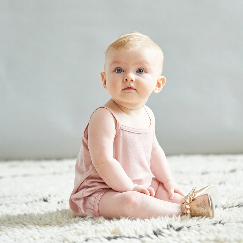 Aroha Baby Cami in Misty Rose