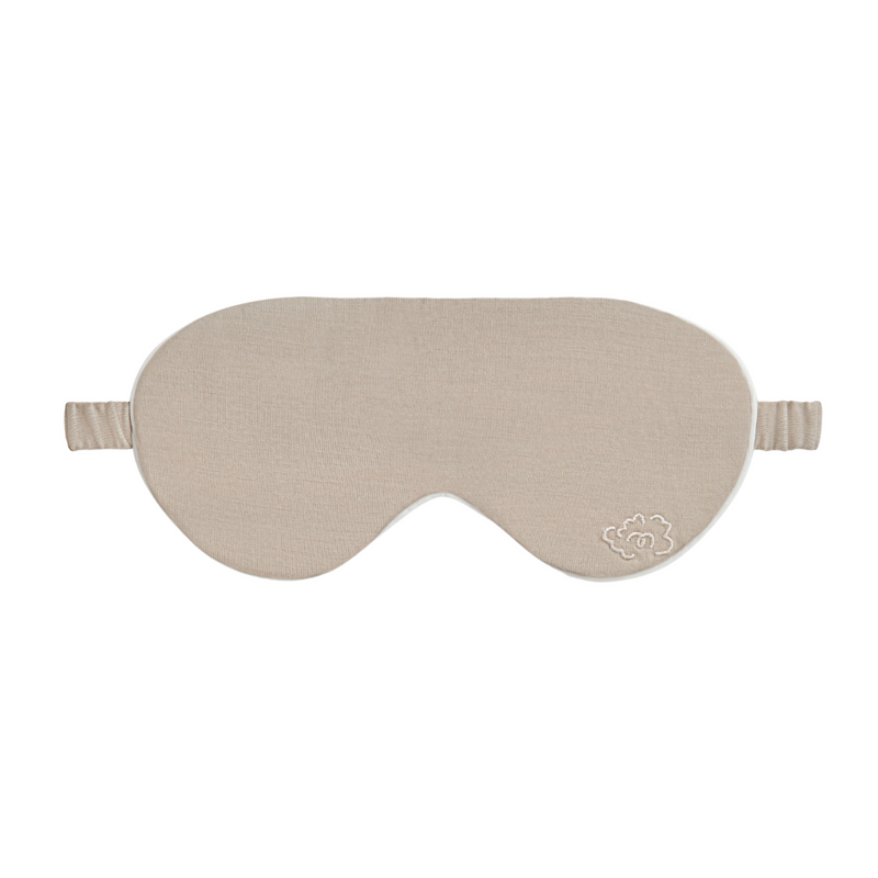 Pure Merino Sleepy Eye Mask Stone