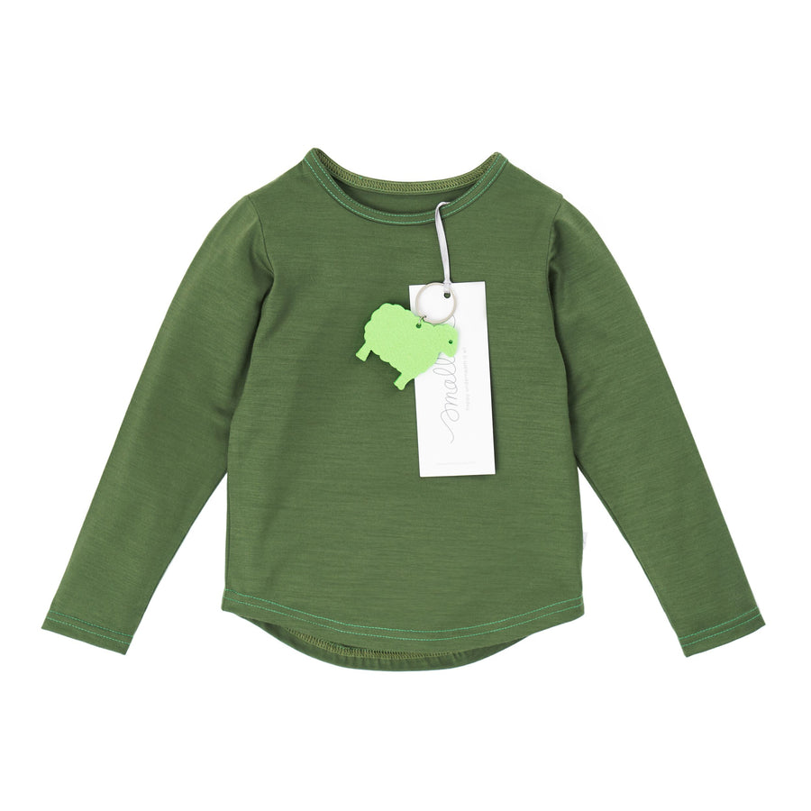The Best Long Sleeve Tee in Forest Green