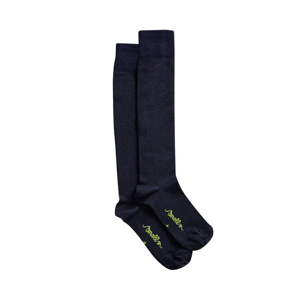 The Softest Merino Socks in French Navy