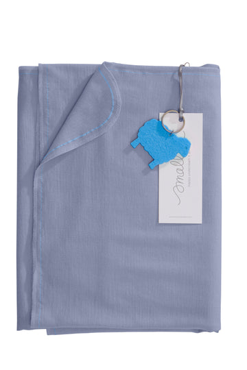 Aroha Swaddle in Steel Blue
