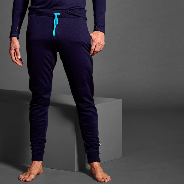 Mens Ever24/7 Trouser in 190g Merino - French Navy