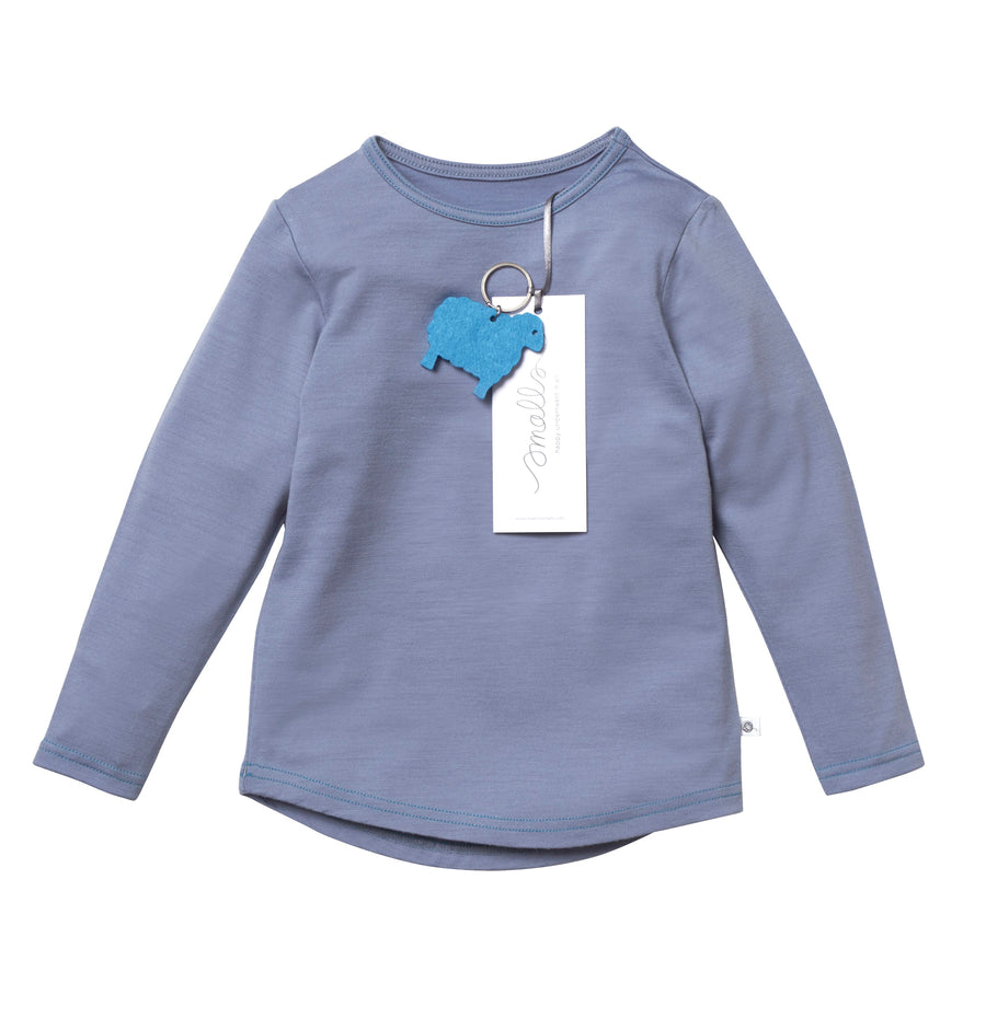 The Best Long Sleeve Tee in Natural Blue