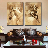 Modern Horse Canvas Wall Art 20x28""