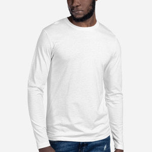 3601 Premium Fitted Long Sleeve Crew - Redemption Store