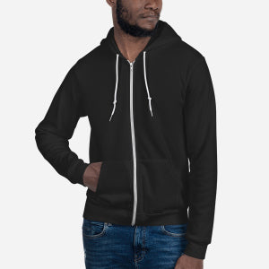 F497W Unisex Flex Fleece Zip Hoodie - Redemption Store