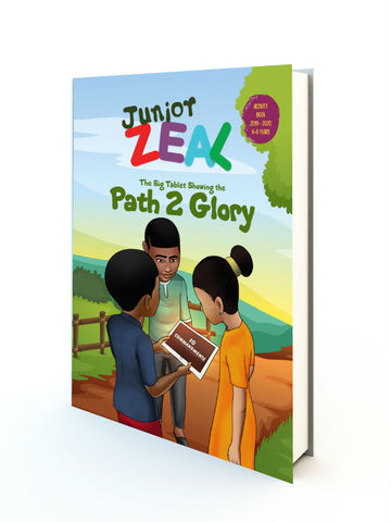 JUNIOR ZEAL 6-8 Years (Activity Book)
