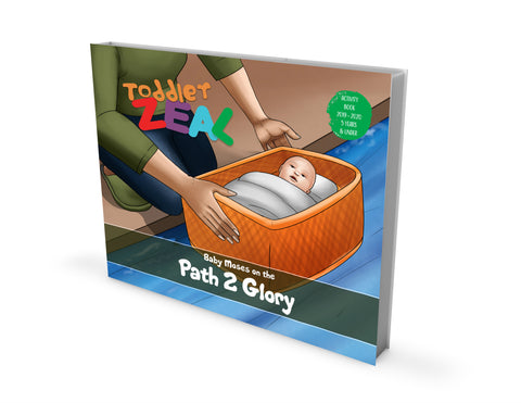 TODDLER ZEAL 0-5 Years (Activity Book)
