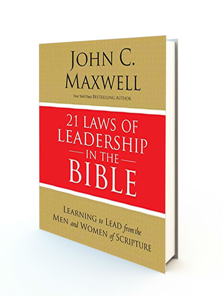 21 Laws of Leadership in the Bible - Redemption Store