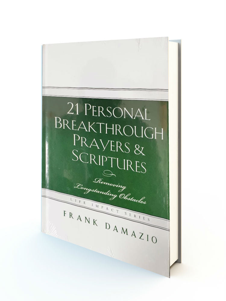 21 Personal Breakthrough Prayers and Scriptures - Redemption Store