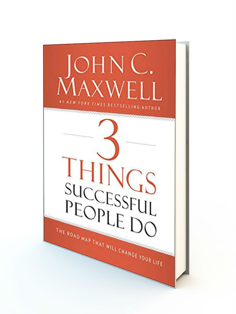 3 Things Successful People Do. Hardback - Redemption Store