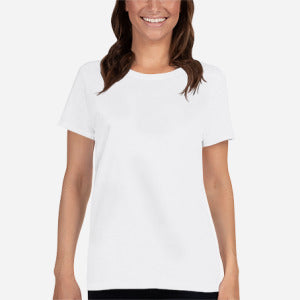5000L Ladies Heavy Cotton Short Sleeve T-Shirt - Redemption Store