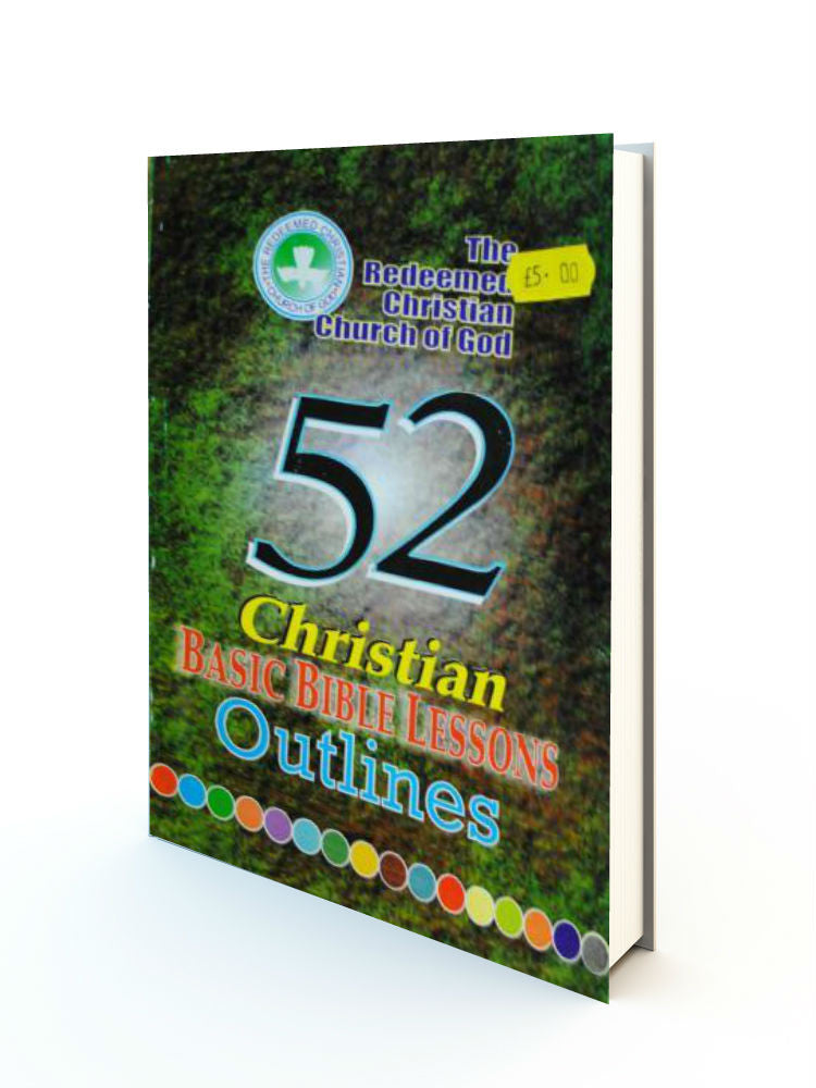 52 Christian Basic Bible Lessons Outlines