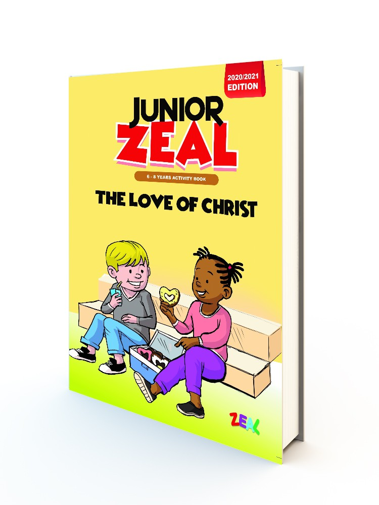 JUNIOR ZEAL 6-8 Years (Activity Book 2020-2021 Edition)