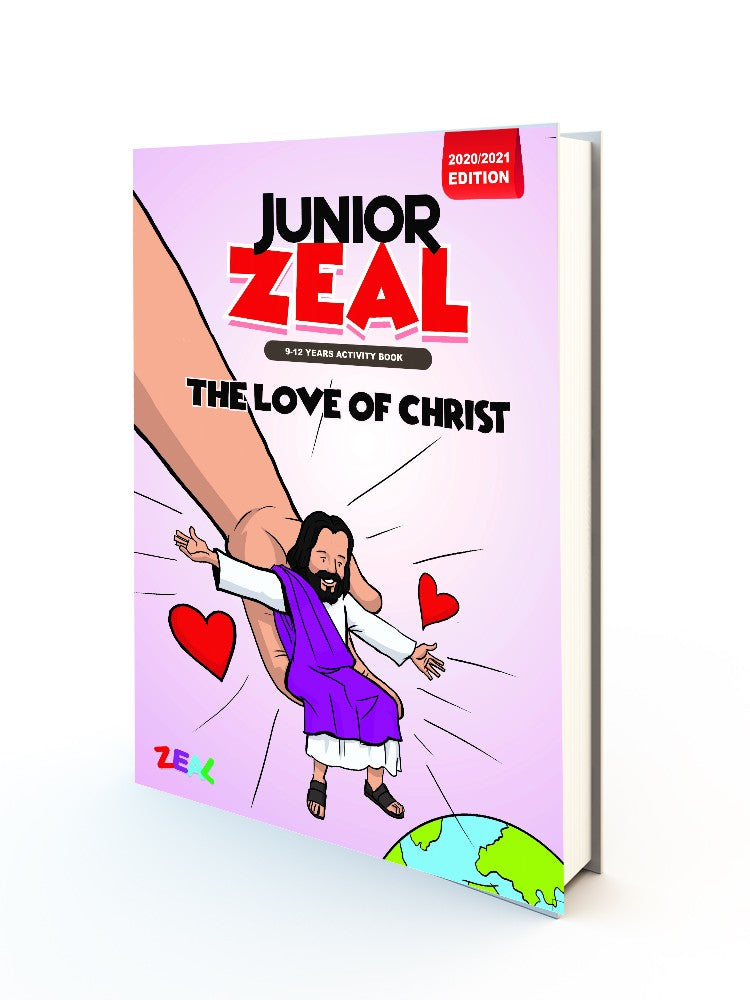 JUNIOR ZEAL 9-12 Years (Activity Book 2020-2021 Edition)