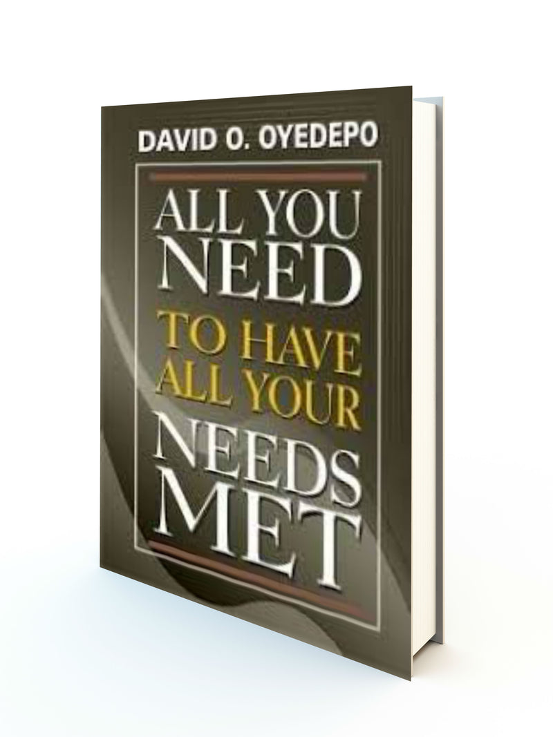 All You Need To Have All Your Needs Met - Redemption Store