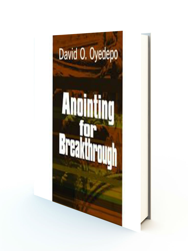 Anointing For Breakthrough - Redemption Store