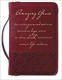 Amazing Grace Bible Case Large