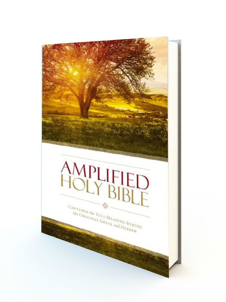 Amplified Holy Bible - Hardback - Redemption Store