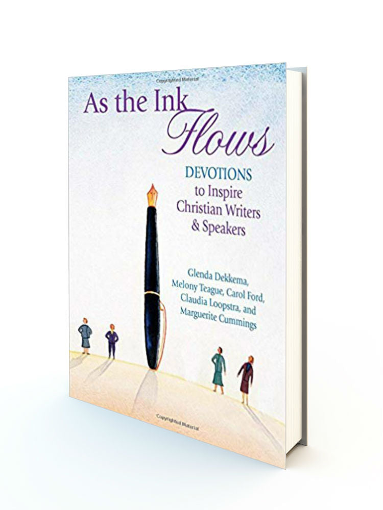 As the Ink Flows: Devotions to Inspire Christian Writers & Speakers - Redemption Store