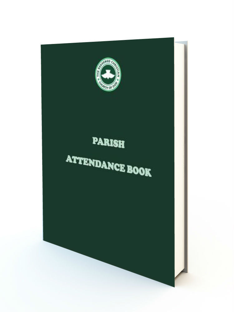 Parish Attendance Book - Redemption Store