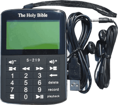RCCG BIBLE MP3 PLAYER-AUDIO & TEXT