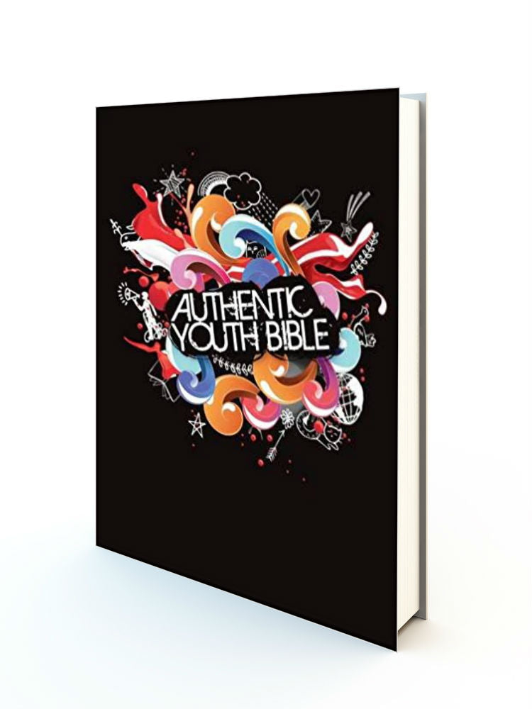 Authentic Youth Bible ERV HB Black - Redemption Store