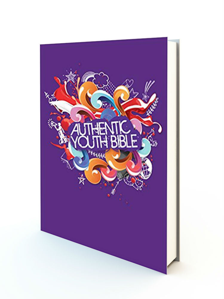 Authentic Youth Bible - Purple - Redemption Store