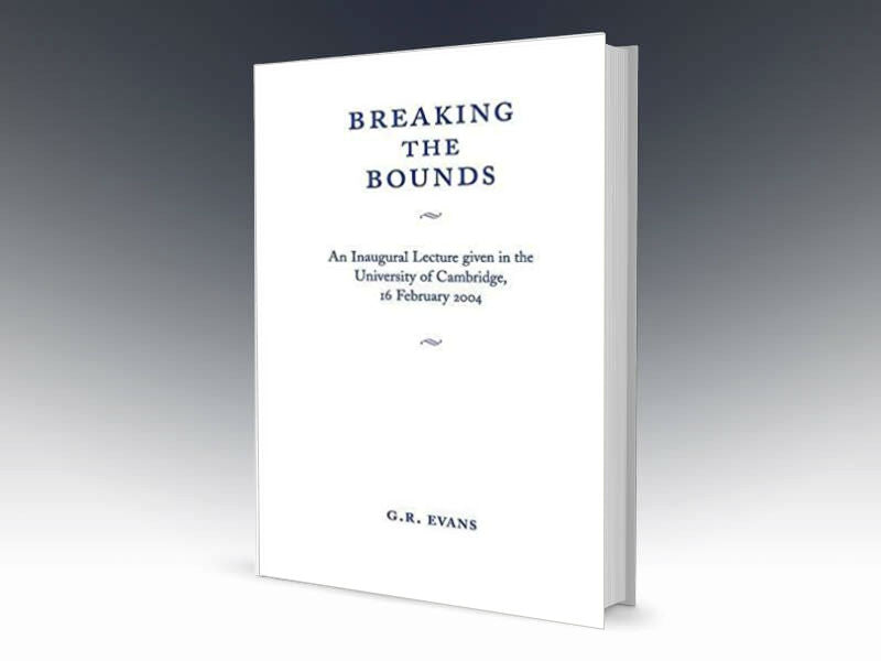 Breaking The Bounds Paperback - Redemption Store