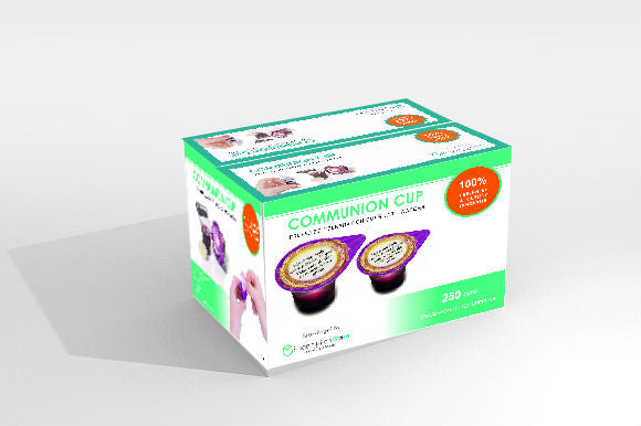 Holy Communion Bread & Grape Juice - 250 Cups (RCCG REPACKAGING) - Redemption Store