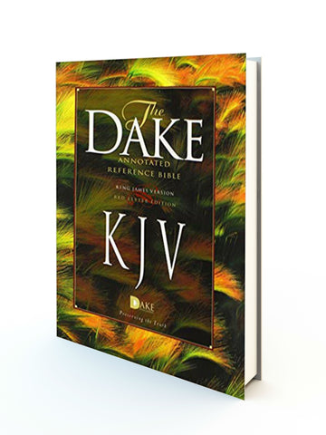 Dake Annotated Reference KJV Bible HB