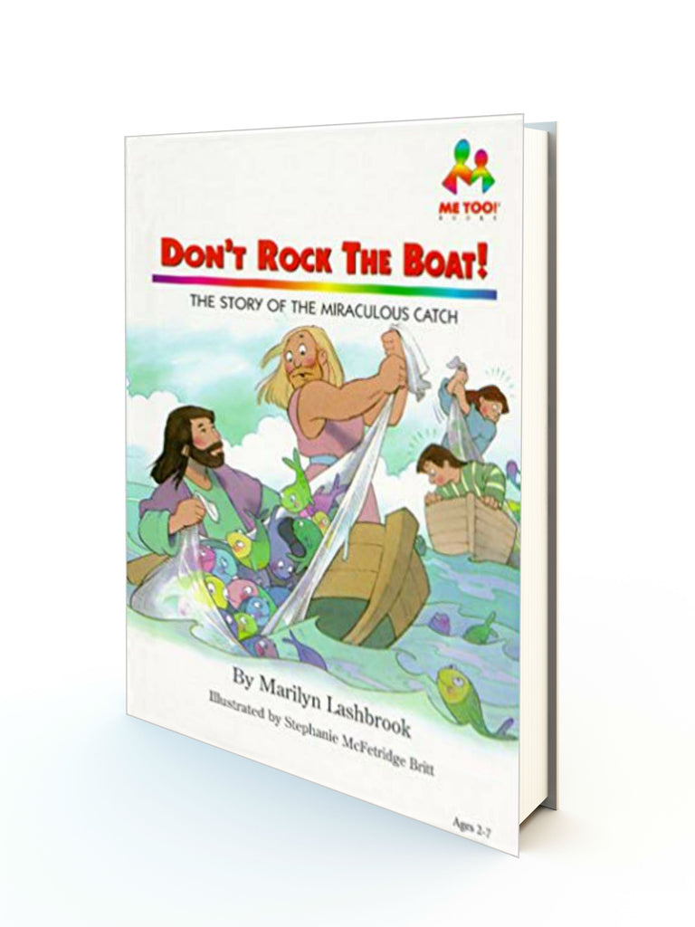 DON'T ROCK THE BOAT - THE STORY OF THE MIRACULOUS CATCH - Redemption Store