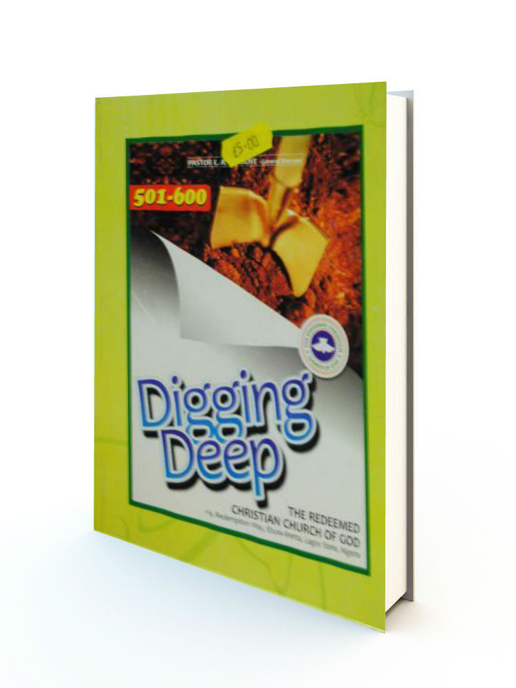 Digging Deep Manual - Redemption Store