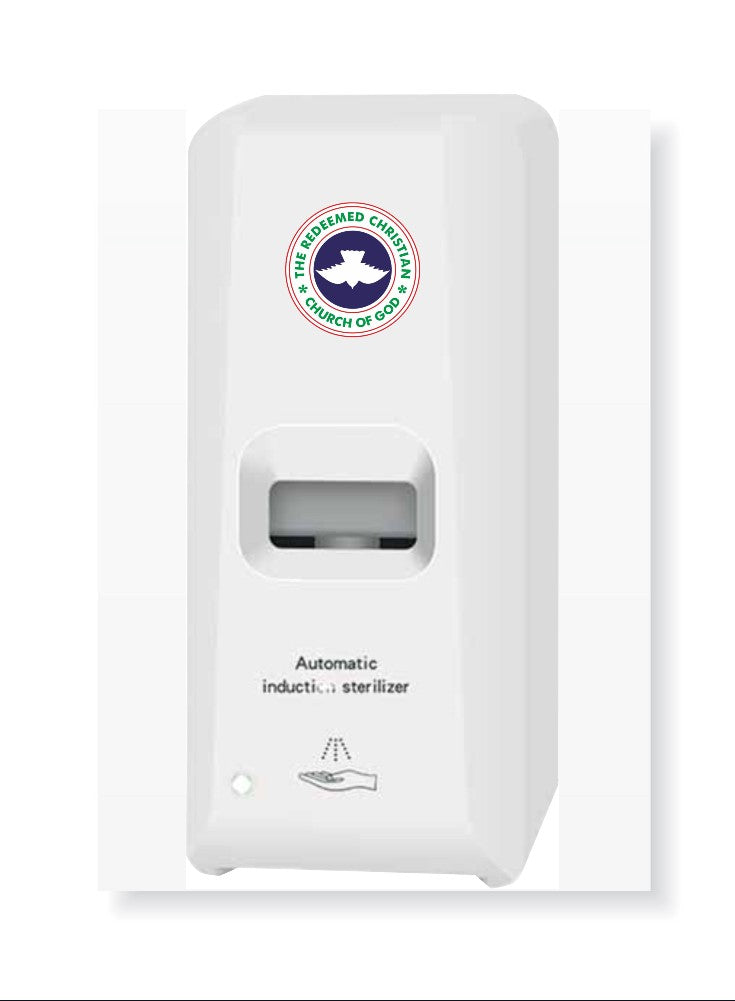 RCCG Automatic Hand Sanitiser Dispenser for Churches