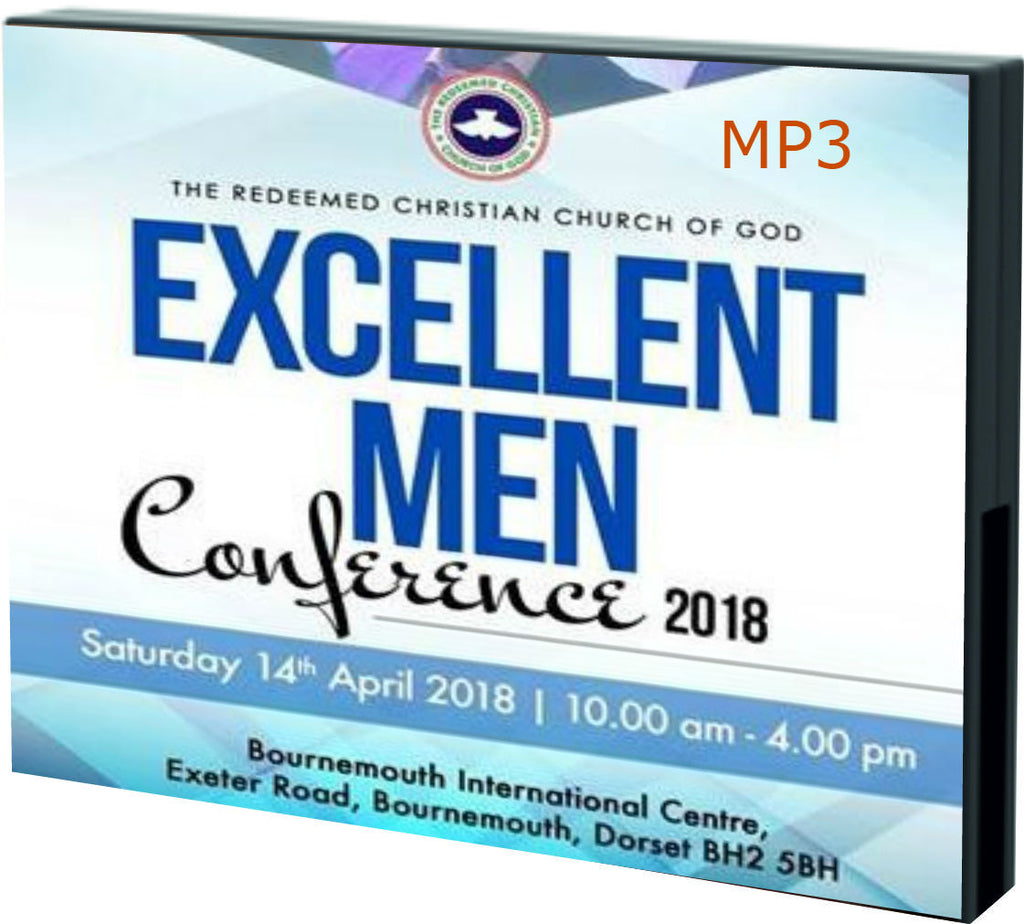 Excellent Men April 2018 (Part 1: Audio Download) - Redemption Store