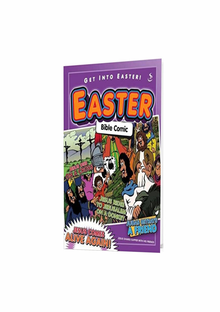 Easter Bible Comic Paperback