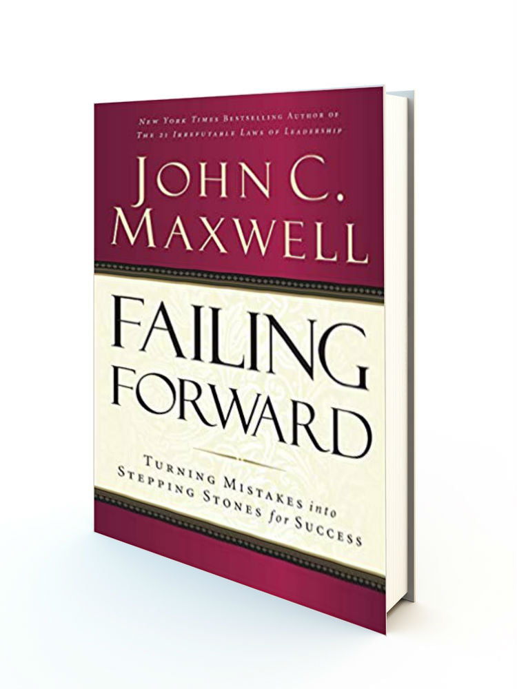 Failing Forward: Turning Mistakes into Stepping Stones for Success - Redemption Store