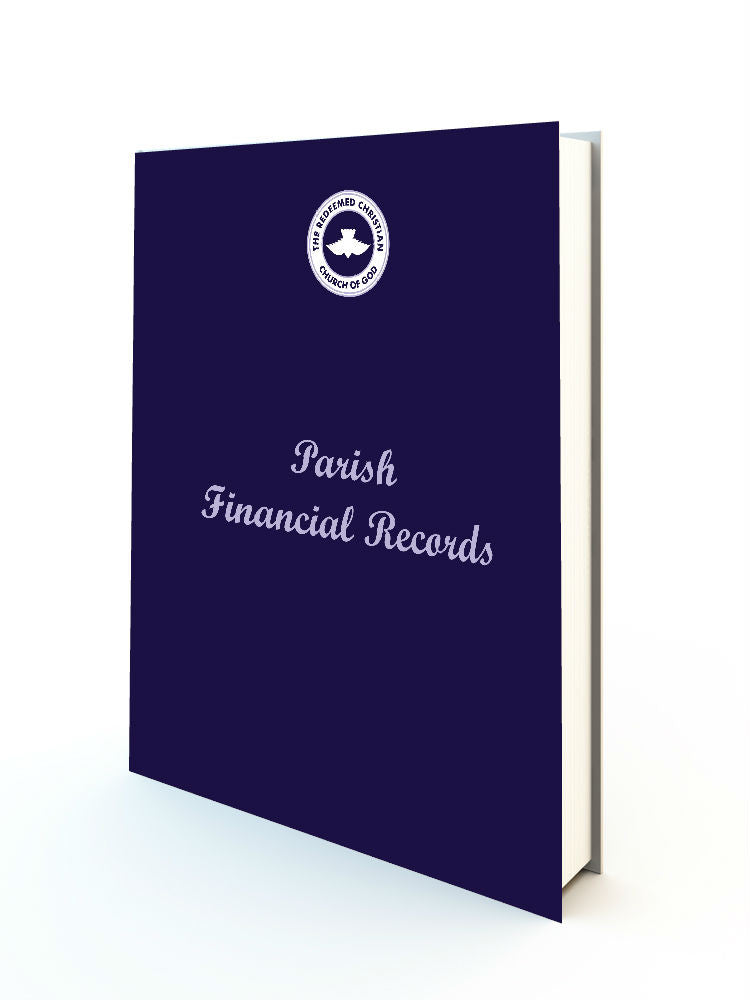 Parish Financial Records Book (Revised Edition) - Redemption Store